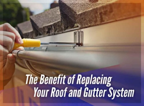 Roof and Gutter System